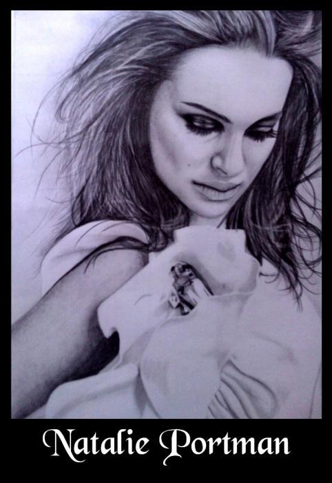 Natalie Portman by sanjulkm